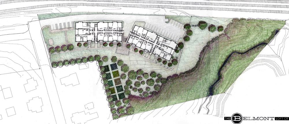 belmont site plan