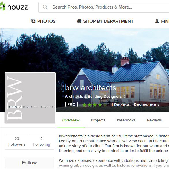 brwarchitects is on Houzz!